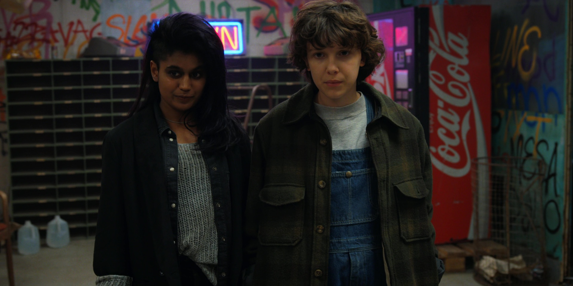 Coca Cola Vending Machine In Stranger Things The Lost