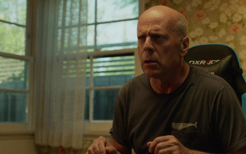 DXRacer Chair Used by by Bruce Willis in Once Upon a Time in Venice (2)