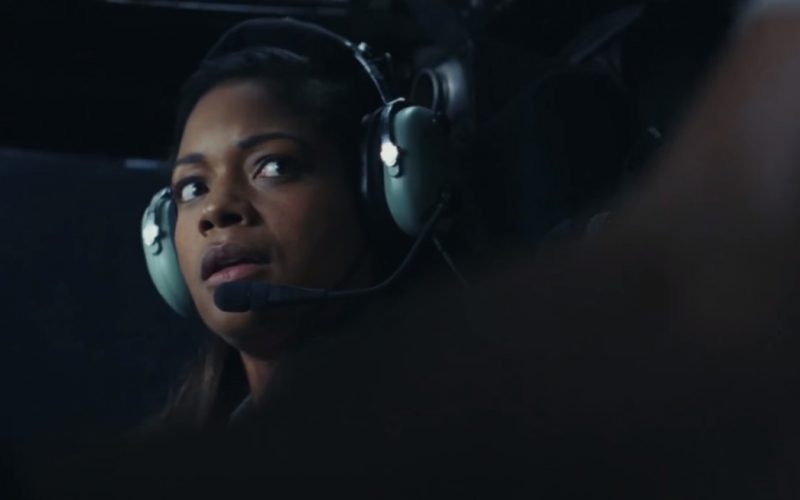 David Clark Aviation Headsets Used by Naomie Harris in Rampage