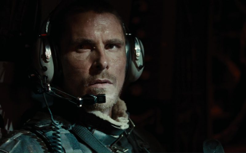 David Clark Headsets Used by Christian Bale (John Connor) in Terminator Salvation (4)