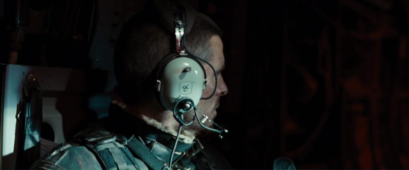 David Clark Headsets Used by Christian Bale (John Connor) in Terminator Salvation (2009) - Movie Product Placement
