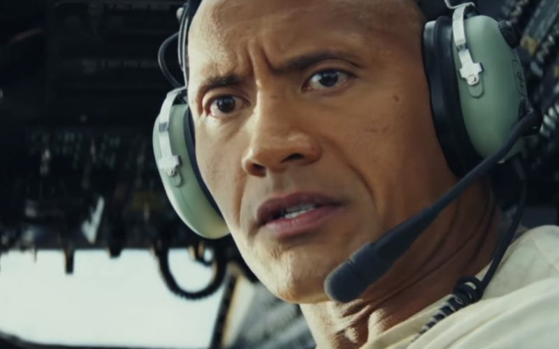 David Clark Pilot Headsets Worn by Dwayne Johnson (The Rock) in Rampage (1)
