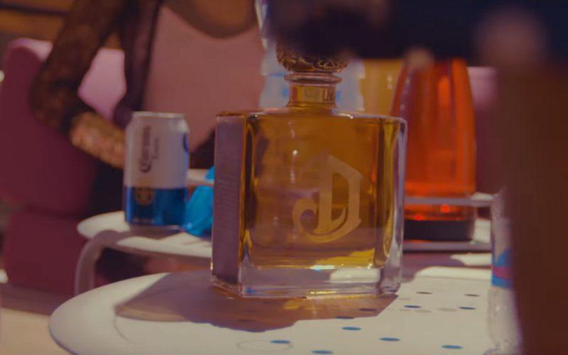 DeLeón Tequila in Golden God by Machine Gun Kelly (1)