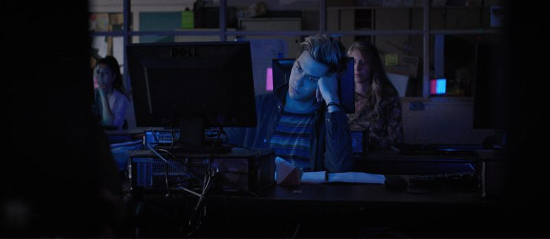 Dell Monitor And Computer Used by Artin John in Death Note (2017) Movie Product Placement