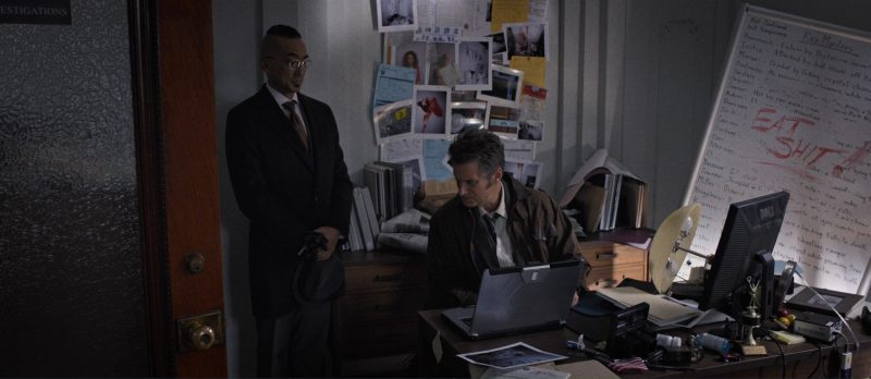 Dell Monitor used by Shea Whigham in Death Note (2017) Movie Product Placement