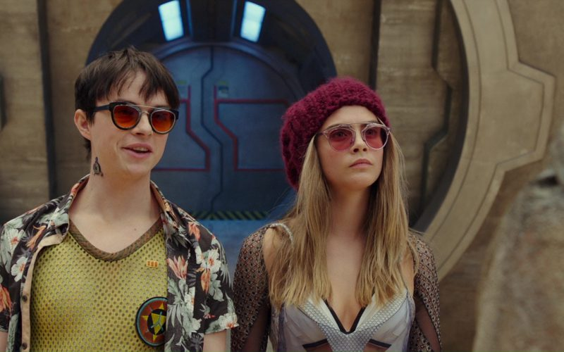 Dior So Real Sunglasses Worn by Cara Delevingne in Valerian and the City of a Thousand Planets (4)