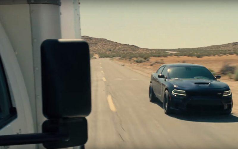 Dodge Charger SRT Black Car in Roman J. Israel, Esq (3)