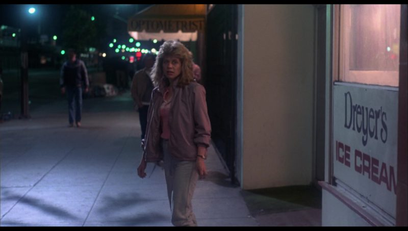 Dreyer's Ice Cream Sign in The Terminator (1984) - Movie Product Placement