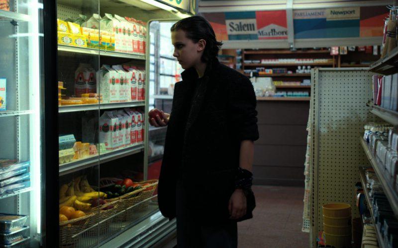 Eggo Waffles, Salem, Marlboro, Parliament, Newport Cigarettes in Stranger Things