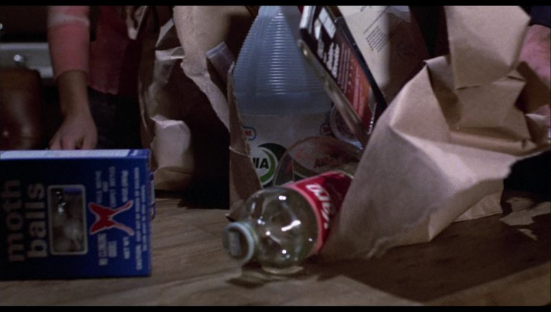 Enoz Moth Balls and Karo Syrup in The Terminator (1984) - Movie Product Placement