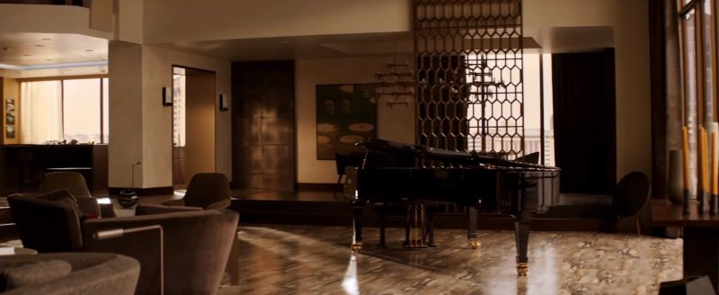 Fazioli Piano in Fifty Shades Freed (2018) Movie Product Placement