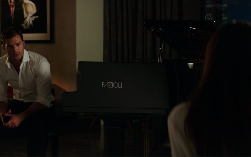 Fazioli Pianoforti High-End Hand-Built Piano Used by James Dornan (Christian Grey) in Fifty Shades Darker (1)