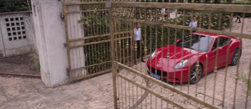 Ferrari Car in S.M.A.R.T. Chase (2017) Movie Product Placement