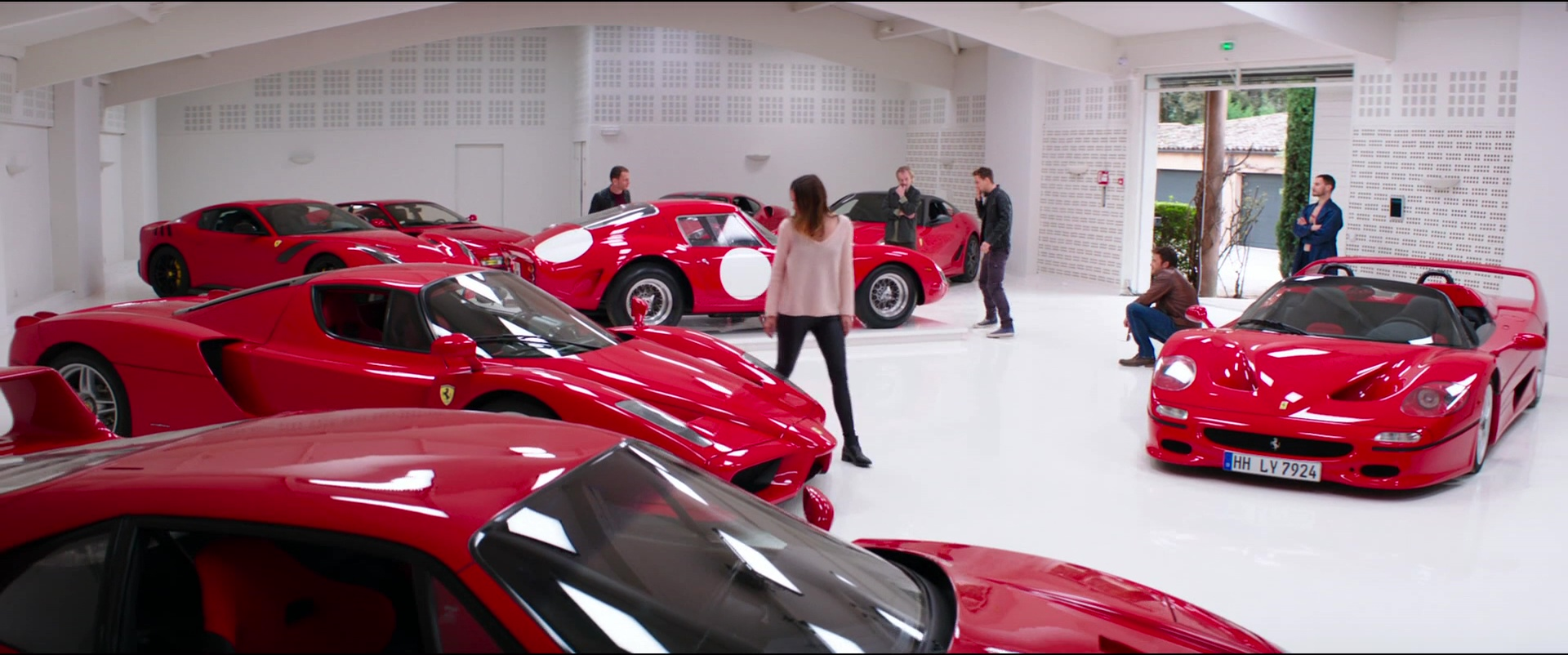 Ferrari Cars In Overdrive 2017 Movie