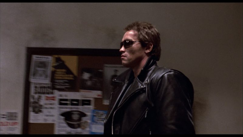 Gargoyles Sunglasses Worn by Arnold Schwarzenegger in The Terminator (1984) Movie Product Placement