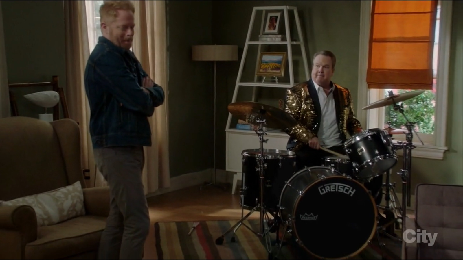 gretsch drums used by eric stonestreet in modern family