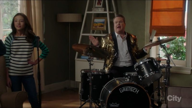 Gretsch Drums Used by Eric Stonestreet in Modern Family: Ten Years Later (2017) - TV Show Product Placement
