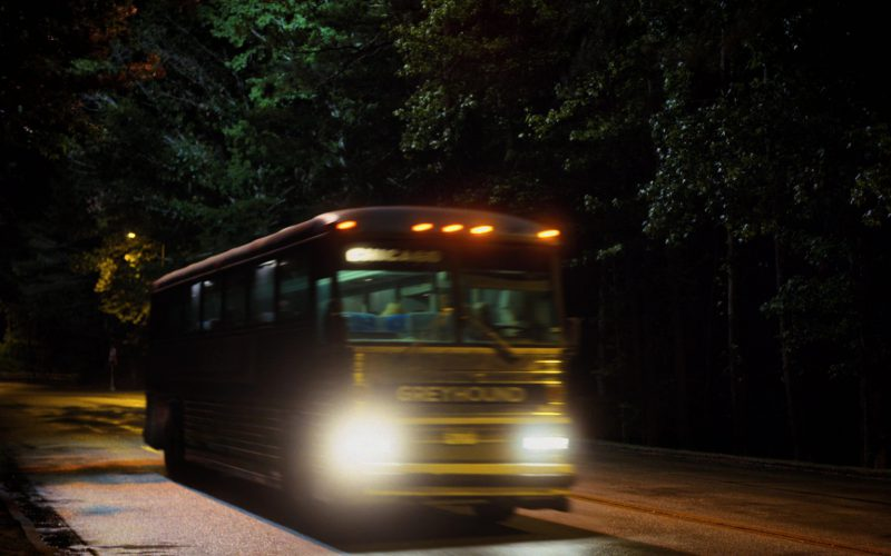Greyhound Lines Bus Used by Millie Bobby Brown in Stranger Things (2)