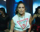 Guess T-Shirt Worn by Jennifer Lopez in Amor, Amor, Amor (9)