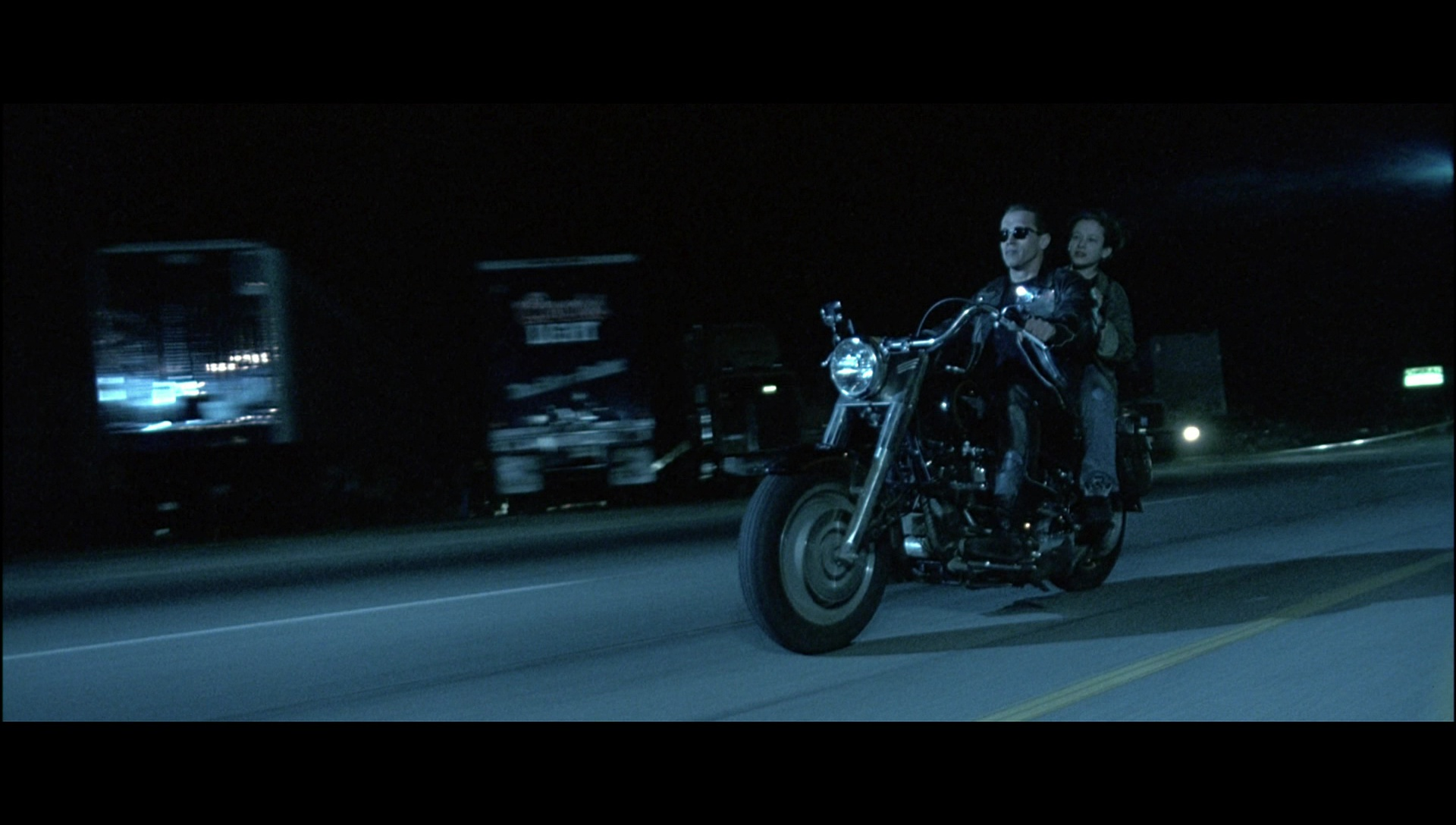 Harley Davidson Motorcycle Driven By Arnold Schwarzenegger