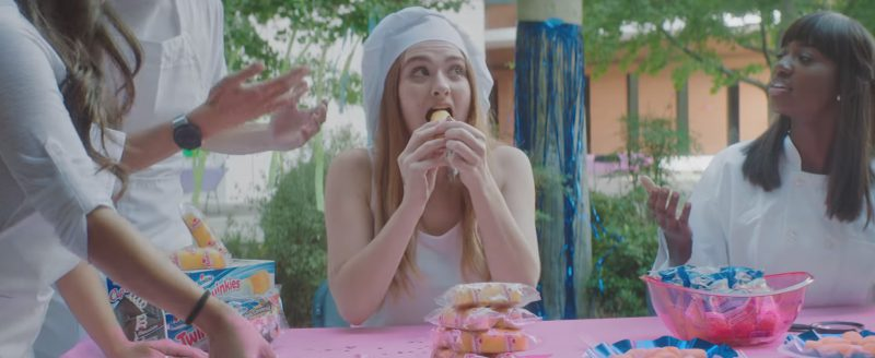 Hostess Brands Twinkie American Snack Cakes in Blocks by Marshmello (2017) Official Music Video Product Placement