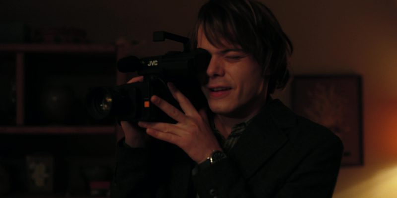 JVC Video Camera Used by Charlie Heaton (Jonathan) in Stranger Things: The Gate (2017) TV Show Product Placement