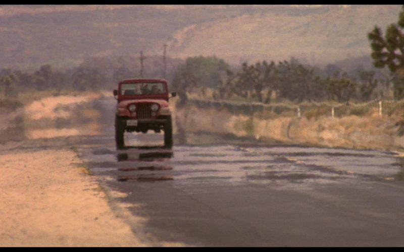 Jeep CJ-7 Renegade Car Driven by Linda Hamilton (Sarah Connor) in The Terminator (2)