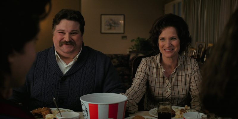 Kentucky Fried Chicken Food in Stranger Things: Madmax (2017) - TV Show Product Placement