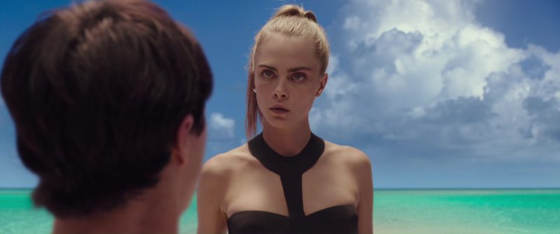 La Perla Swimwear Worn by Cara Delevingne in Valerian and the City of a Thousand Planets (2017) - Movie Product Placement