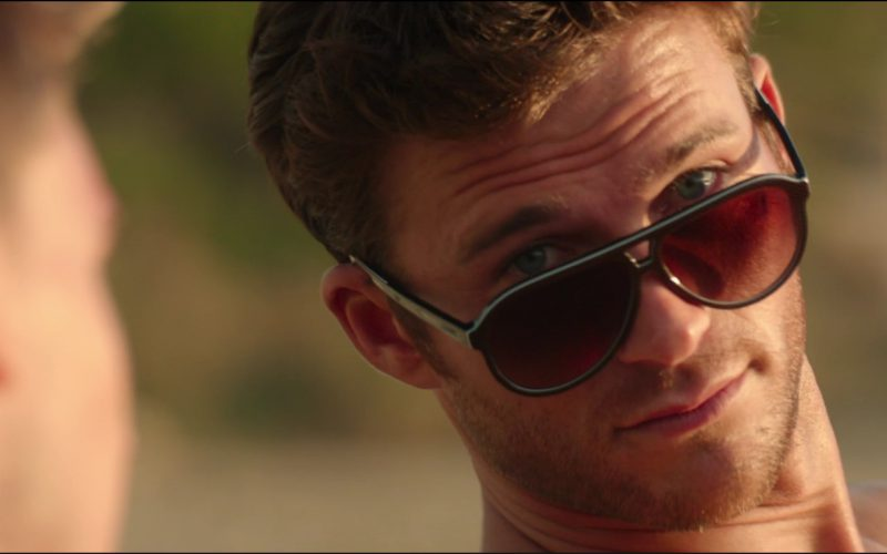 Lacoste L741S Sunglasses Worn by Scott Eastwood in Overdrive (1)