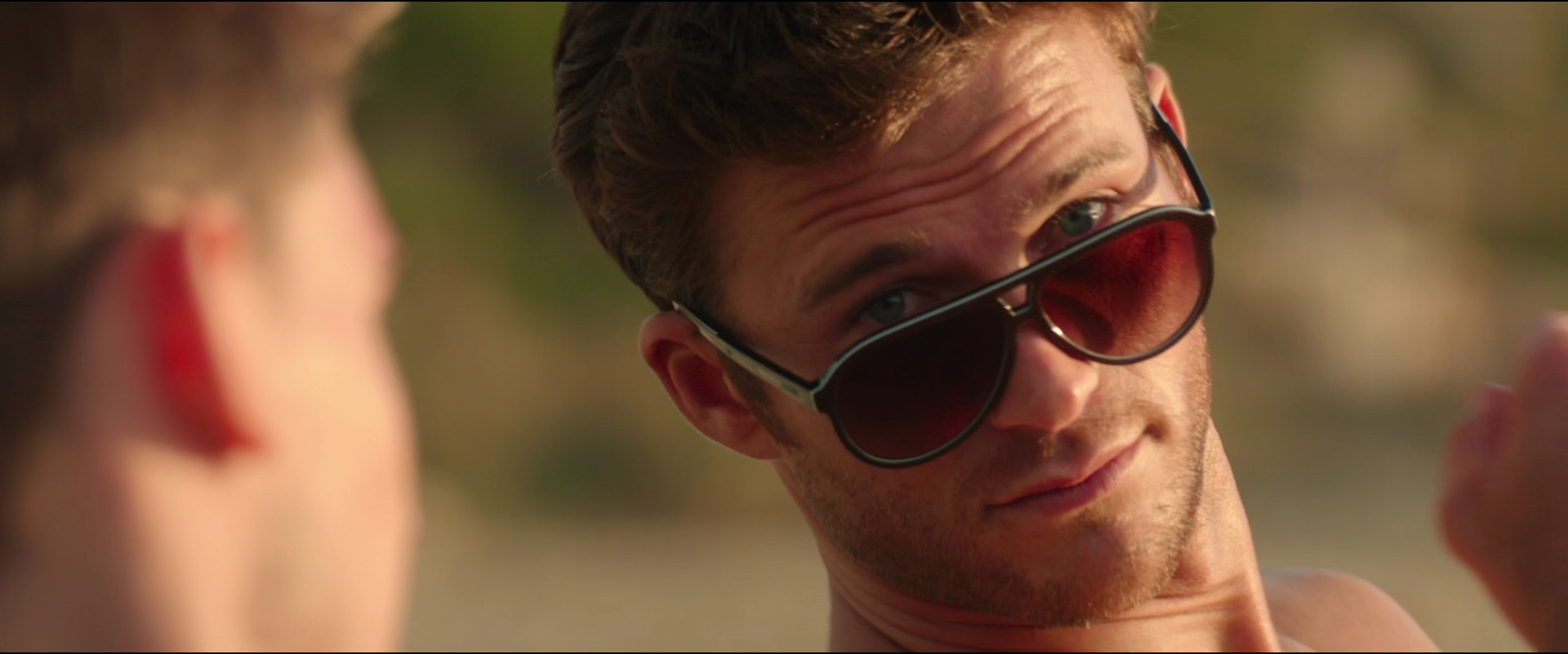 d64e3e343b568 Lacoste Sunglasses (L741S) Worn by Scott Eastwood in Overdrive (2017) Movie  Product