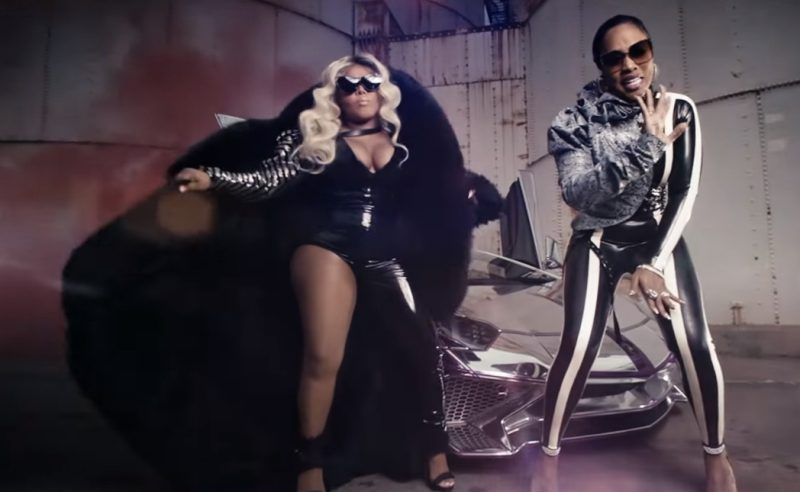 Lamborghini Aventador Sports Car in Wake Me Up by Remy Ma ft. Lil' Kim (2017) - Official Music Video Product Placement