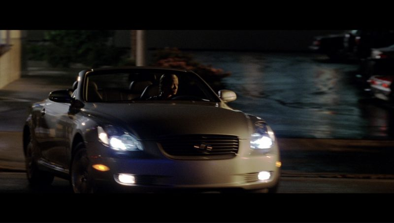 Lexus SC 430 Car Driven by Kristanna Loken (T-X) in Terminator 3: Rise of the Machines (2003) Movie Product Placement