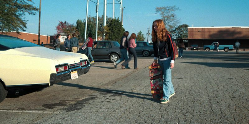 Madrid Skateboards Used by Sadie Sink (Max) in Stranger Things: Trick or Treat, Freak (2017) TV Show Product Placement