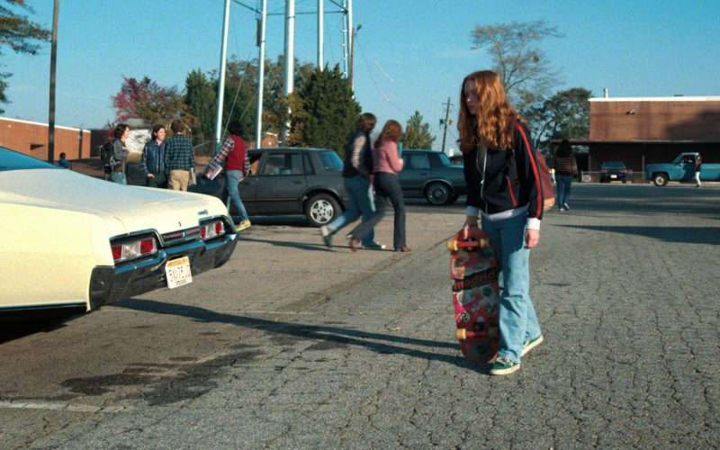 Madrid Skateboards Used by Sadie Sink (Max) in Stranger Things