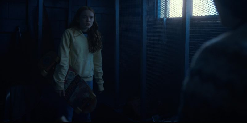 Madrid Skateboards Used by Sadie Sink (Max) in Stranger Things: The Pollywog (2017) - TV Show Product Placement
