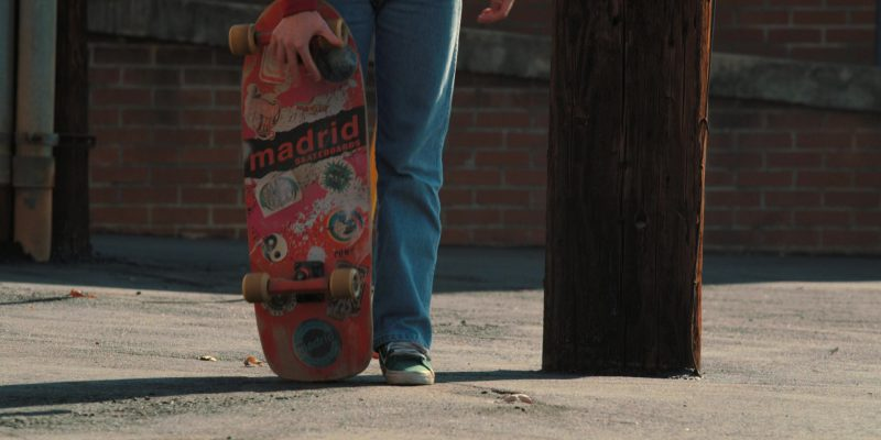 Madrid Skateboards Used by Sadie Sink (Max) in Stranger Things: Madmax (2017) TV Show Product Placement