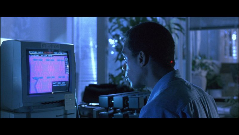 Magnavox Monitors Used by Joe Morton (as Dr. Miles Bennett Dyson) in Terminator 2: Judgment Day (1991) - Movie Product Placement