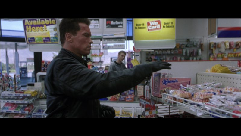Manner Original Neapolitan Wafers in Terminator 3: Rise of the Machines (2003) - Movie Product Placement