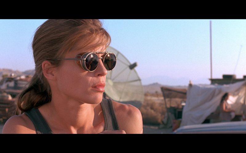 Matsuda 2809 Sunglasses Worn by Linda Hamilton (Sarah Connor) in Terminator 2 (4)