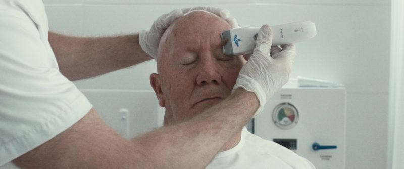 Medline Electric Surgical Hair Clipper in Downsizing (2017) - Movie Product Placement