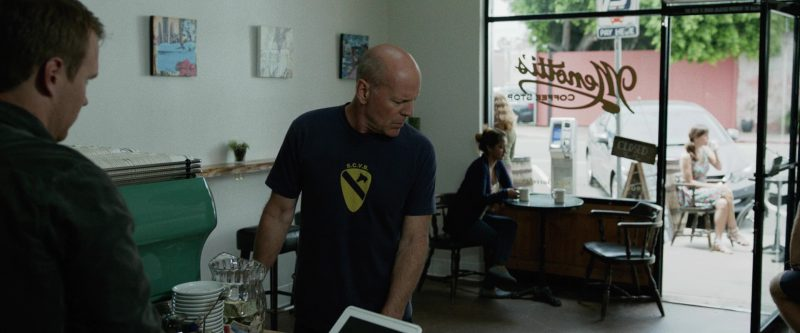 Menotti's Coffee Stop (Venice) in Once Upon a Time in Venice (2017) Movie Product Placement