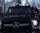 Mercedes-Benz Gelandewagen G63 Black Car in Benz Truck by Lil Peep (1)