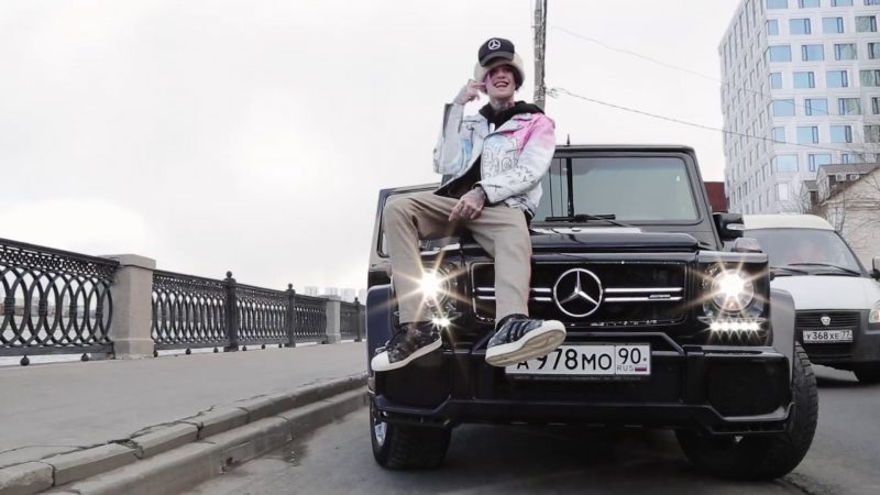 Mercedes-Benz in Benz Truck by Lil Peep (2017) - Official Music Video Product Placement
