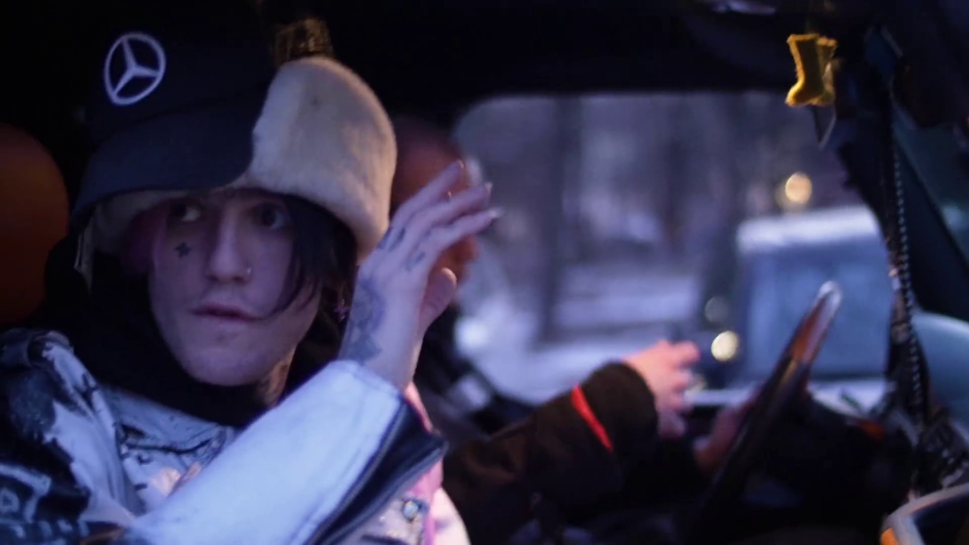 List Of Car Brands >> Mercedes-Benz in Benz Truck by Lil Peep (2017) Official ...