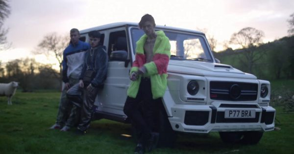 Used Ford Focus >> Mercedes Brabus Gelandewagen (G-Class) White Car in Benz Truck by Lil Peep (2017) Official Music ...
