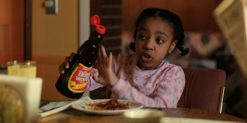 Mrs. Butterworth's Syrup in Stranger Things: Dig Dug (2017) - TV Show Product Placement