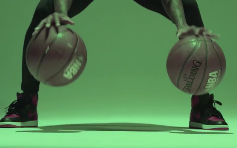 NBA x Spalding Basketball and Nike Sneakers in Flipmode by Fabolous, Velous, Chris Brown (1)