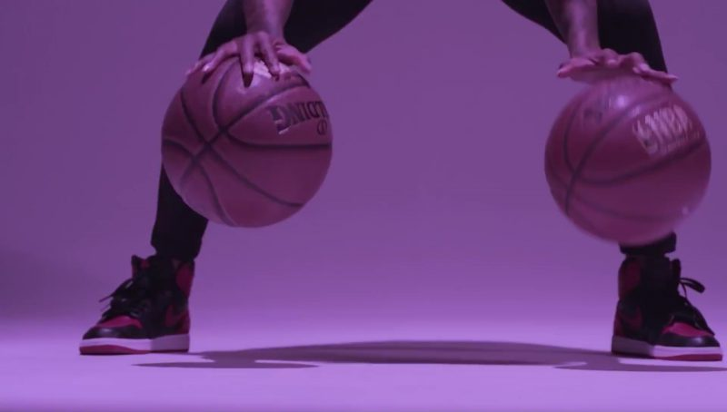 NBA x Spalding Basketball and Nike Sneakers in Flipmode by Fabolous, Velous, Chris Brown (2017) - Official Music Video Product Placement
