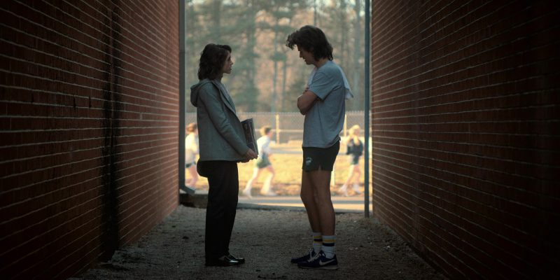Nike Blue Shoes Worn by Joe Keery (Steve Harrington) in Stranger Things: The Pollywog (2017) TV Show Product Placement